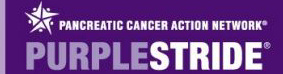 Purple Pride Supports research of cures for Pancreatic Cancer
